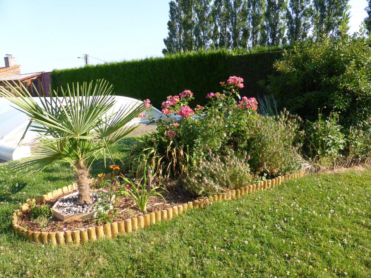 Derri re la piscine for La jardin 2015